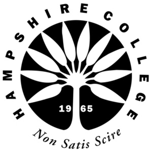 Hampshire College logo.