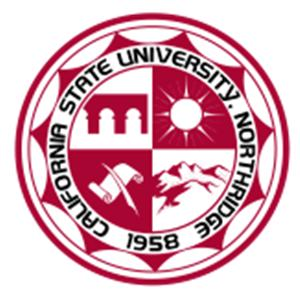California State University, Northridge logo.