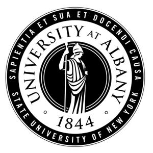 University at Albany logo.