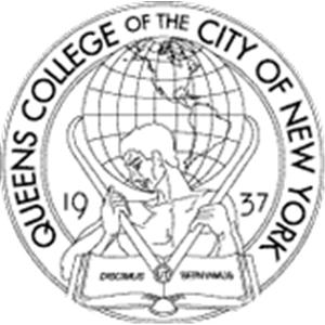 Queens College logo.