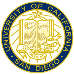University of California, San Diego logo.
