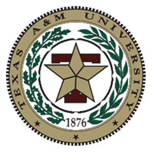 Texas A&M University logo.
