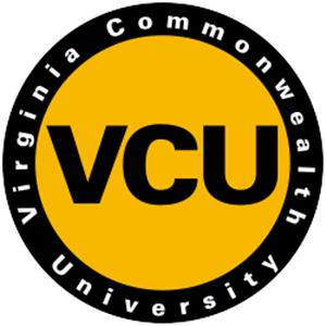 Virginia Commonwealth University logo.