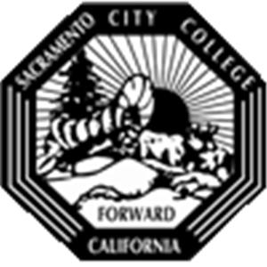 Sacramento City College logo.