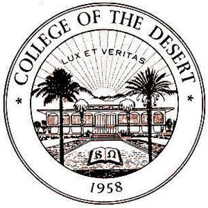 College of the Desert logo.