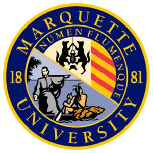 Marquette University logo.