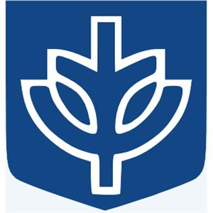DePaul University Law School logo.