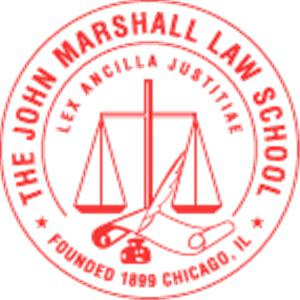 John Marshall Law School logo.
