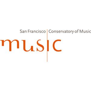San Francisco Conservatory of Music logo.