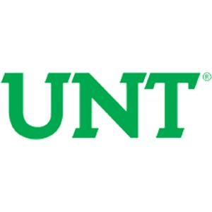 University of North Texas logo.