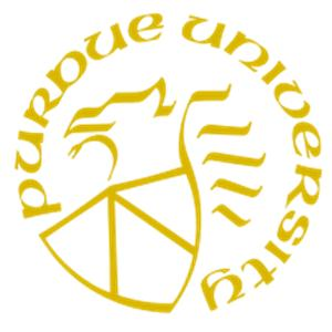 Purdue University logo.