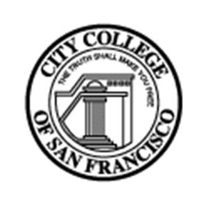 City College of San Francisco logo.