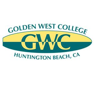 Golden West College logo.
