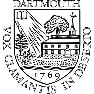 Dartmouth College logo.