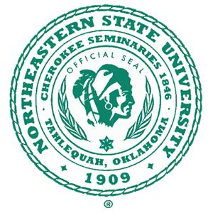 Northeastern State University logo.