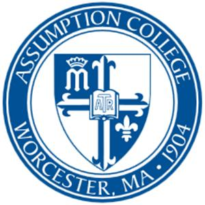 Assumption College logo.