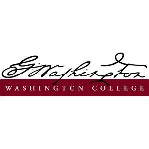 Washington College logo.