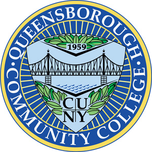 Queensborough Community College logo.