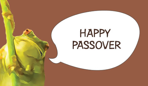 Passover card.