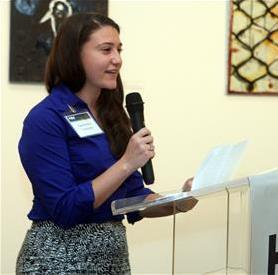 Samantha Turetsky Speaks at Hillel International Board of Directors Meeting