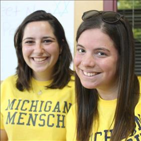 Michigan Hillel students.