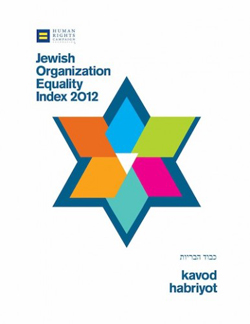 Cover of Jewish Organization Equality Index 2012