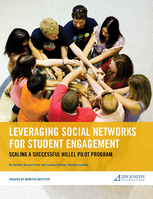 Leveraging Social Networks for Student Engagement: Monitor Institute Case Study of Hillel