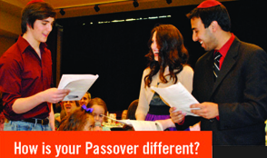 Tell us about YOUR Passover!.