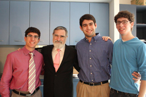 Rabbi Sacks AU Students.
