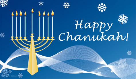 Chanukah card.